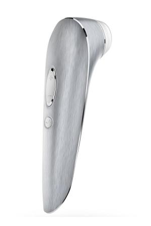 Алюминиевый клиторальный стимулятор Satisfyer Luxury High Fashion