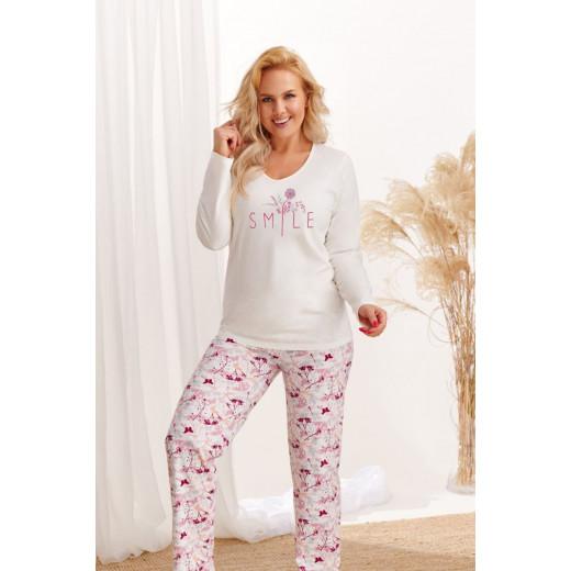 Женская хлопковая пижама Iga