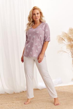 Хлопковая пижама Lidia с брюками