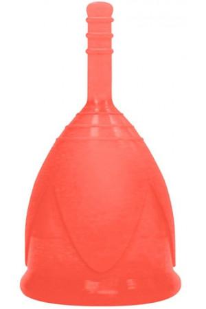 Красная менструальная чаша размера S