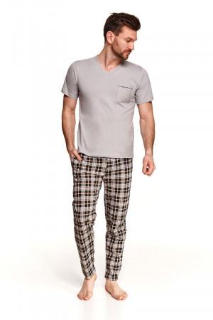Домашний комплект Tymon с клетчатыми брюками