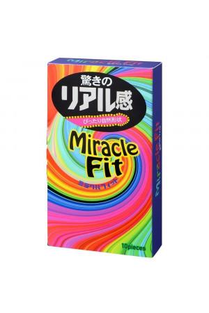 Презервативы Sagami Miracle Fit - 10 шт.